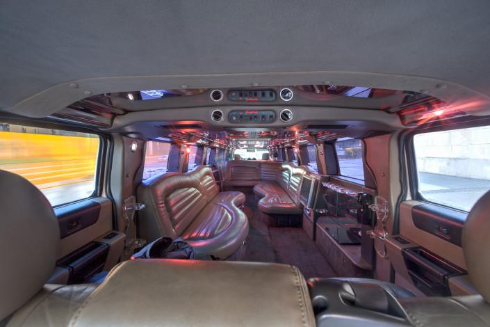 Interior Limusina Hummer