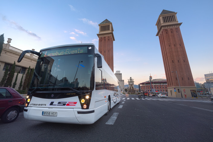 Barcelona en Autobús Limusina
