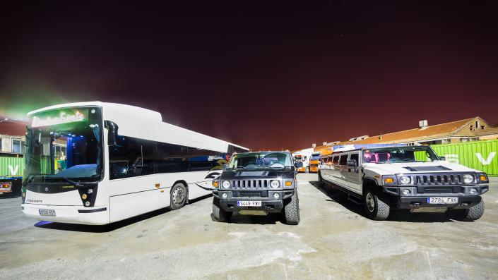 Parking de Limusinas